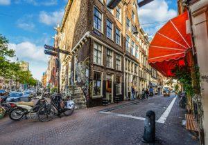 zweiräder in amsterdam