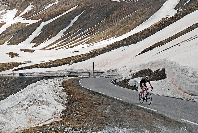 Radtour in den Französischen Alpen