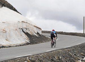 radfahrer alpen